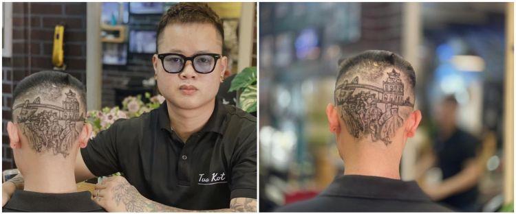 Tukang cukur sulap rambut pelanggan jadi artistik, intip 8 potretnya
