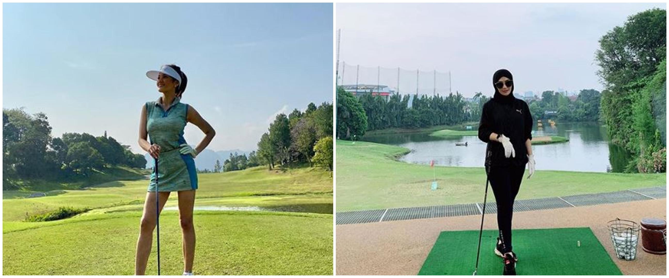 10 Seleb cantik ini hobi main golf, gayanya menawan