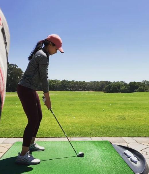 10 seleb golf Instagram