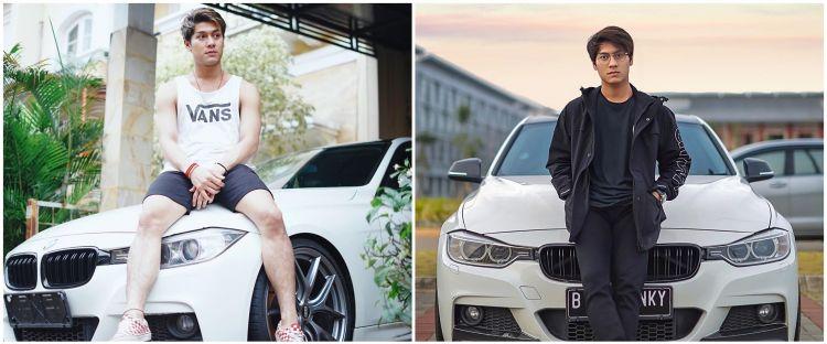 9 Penampakan interior mobil BMW milik Rizky Billar, mewah abis