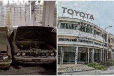 7 Potret puluhan mobil baru tak pernah keluar showroom selama 46 tahun