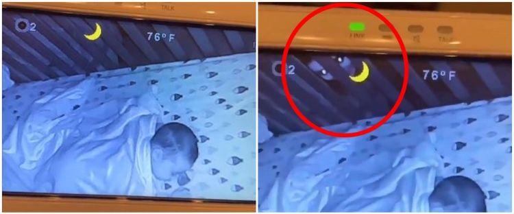 Viral penampakan terekam CCTV di kamar bayi, ini faktanya