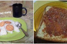 10 Potret sarapan warga Indonesia ini nyelenehnya nggak ketulungan