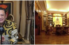 10 Potret rumah mewah Bambang Soesatyo, basement penuh mobil antik