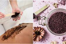 8 Cara membuat body scrub dengan bahan alami, bikin kulit halus