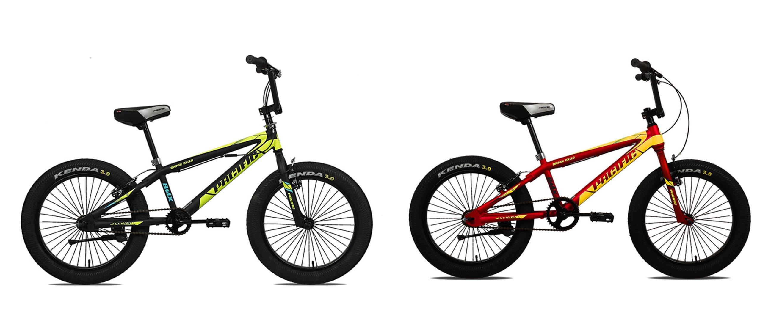 Harga sepeda BMX Pacific Spinix dan spesifikasi, gesit dan keren