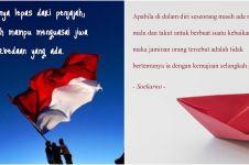 40 Ucapan Hari Kemerdekaan RI 17 Agustus, penuh semangat