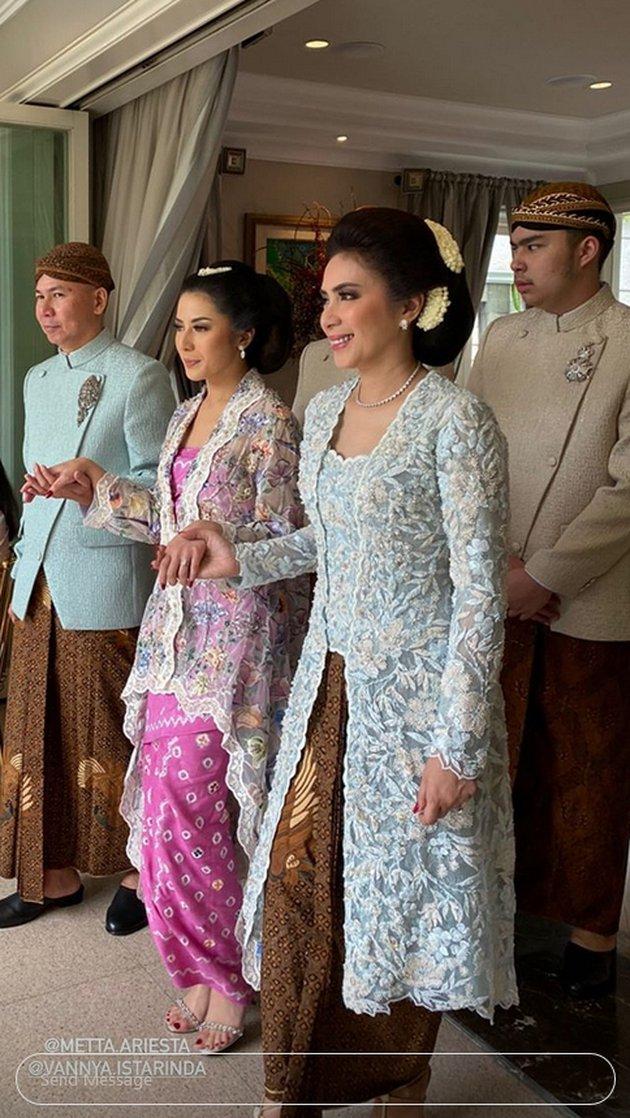 Momen siraman Arya Bakrie & Vannya Istarinda © 2020 Instagram