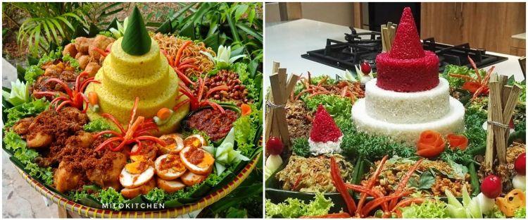 9 Resep olahan nasi tumpeng beserta lauknya, enak dan praktis