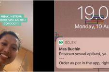 Cerita majikan order makan via ojek online lalu ART-nya dapat jodoh