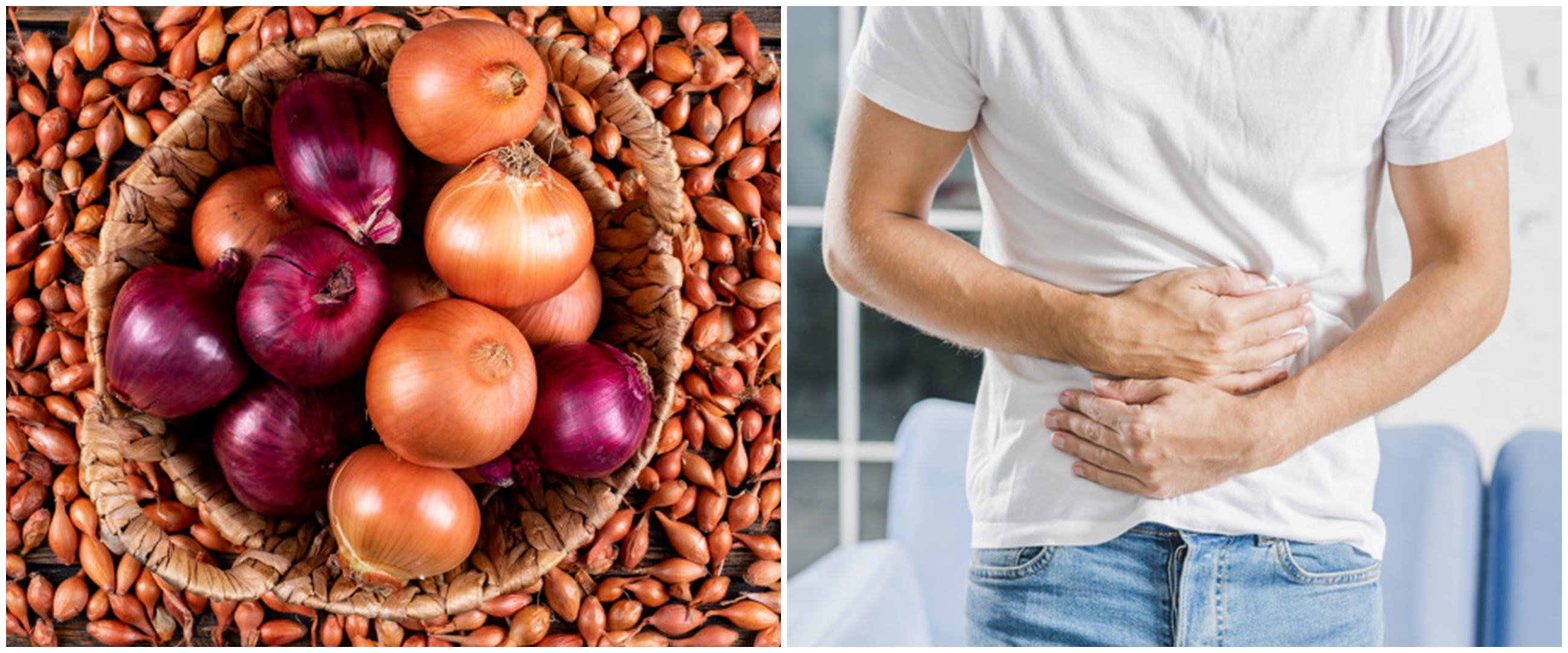 10 Manfaat bawang bombai untuk kesehatan, melancarkan pencernaan