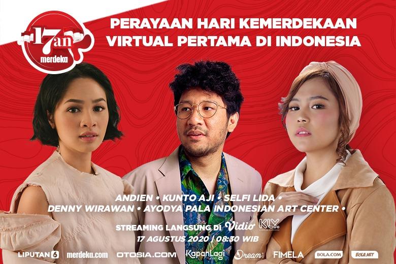 Merdeka.com gelar perayaan kemerdekaan secara virtual