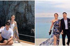 8 Potret prewedding Vannya Istarinda & Arya Bakrie, classy abis