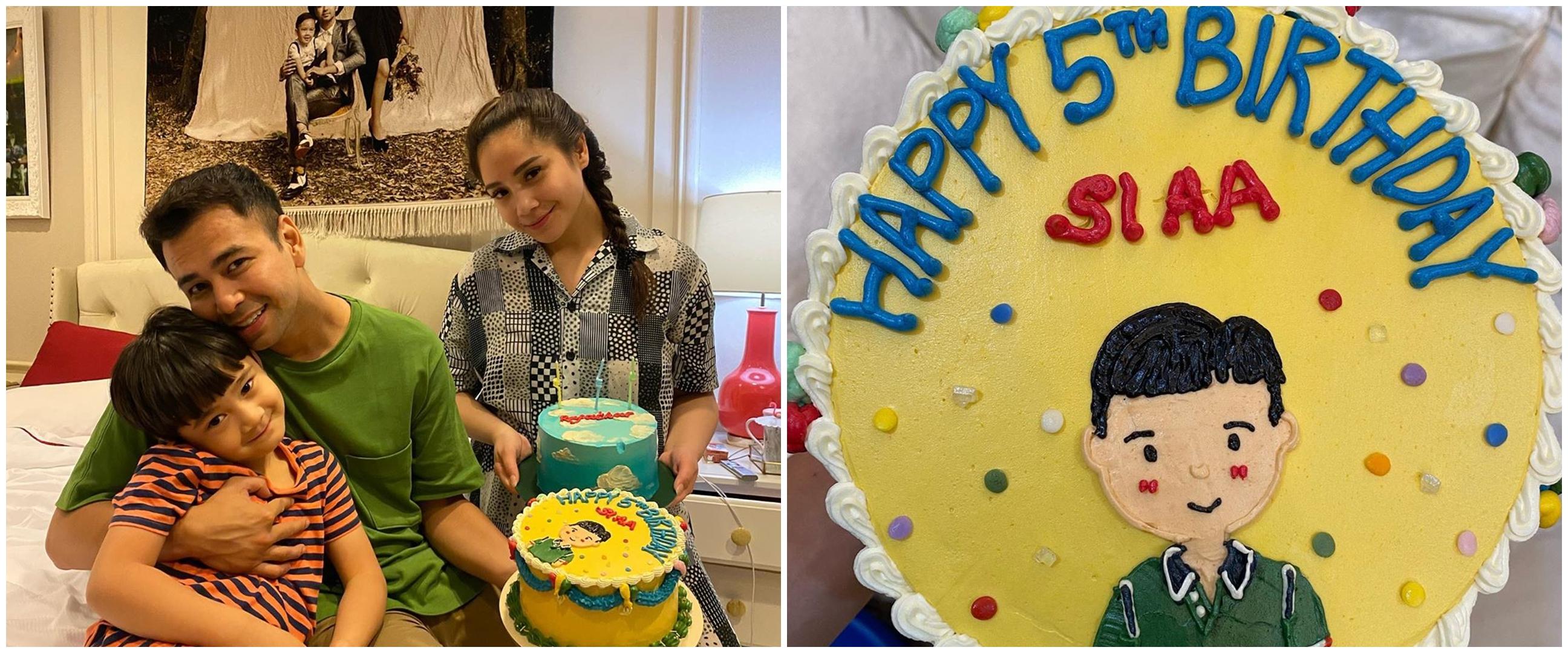 5 Momen perayaan ulang tahun ke-5 Rafathar, ingin kado adik