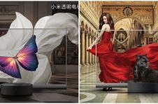 5 Fakta TV transparan buatan Xiaomi, wujudnya bak karya seni