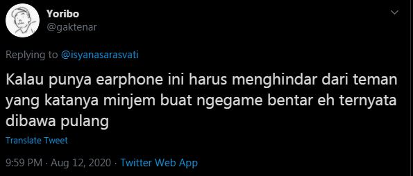 10 Cuitan lucu earphone Rp 19 juta Isyana Sarasvati istmewa