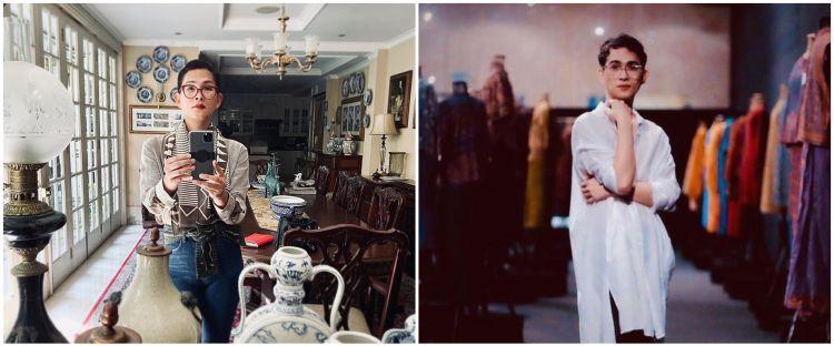 Oscar Lawalata putuskan jadi wanita, ini 8 potretnya bergaya feminin