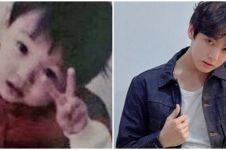 10 Transformasi Jungkook BTS dari kecil hingga jadi idol sukses