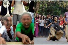 10 Potret lucu ekspresi orang rayakan 17 Agustus, penuh antusias