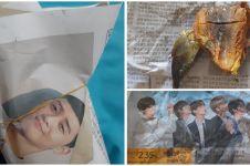 9 Potret lucu seleb Korea ada di bungkus makanan ini bikin geli