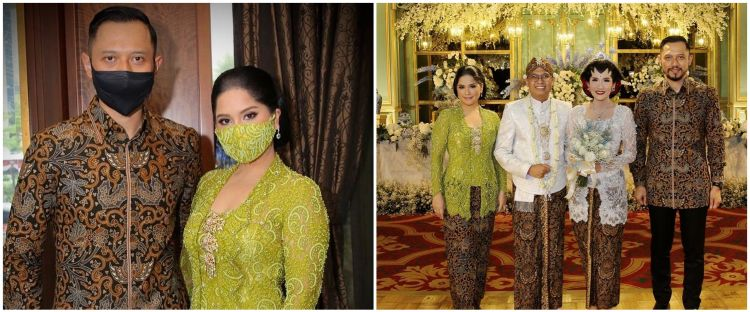 9 Momen Annisa Pohan kondangan saat corona, gayanya jadi sorotan