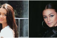 Kerap tampil natural, ini 7 pesona Amanda Rawles dengan makeup tebal