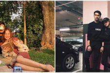 10 Potret kebersamaan Beby Tsabina dan kakak, bak pacaran