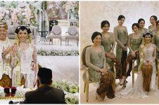 11 Momen akad nikah Arya Bakrie dan Vannya, berbalut adat Jawa