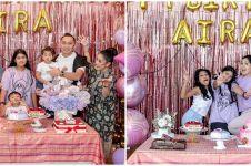 8 Potret perayaan ulang tahun Almira Yudhoyono ke-12, serba pink
