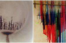10 Potret karya artistik ini tercipta secara nggak sengaja, wow!