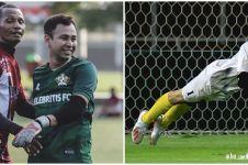 8 Gaya Raffi Ahmad bermain sepak bola, bak atlet profesional