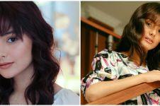 10 Potret Amanda Rawles dengan rambut berponi, makin imut
