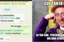 8 Meme lucu admin grup WA absurd ini bikin gagal paham