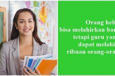 40 Kata-kata mutiara tentang guru, penuh makna dan menyentuh hati