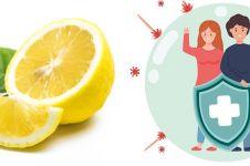 10 Manfaat lemon untuk kesehatan, kuatkan sistem imun