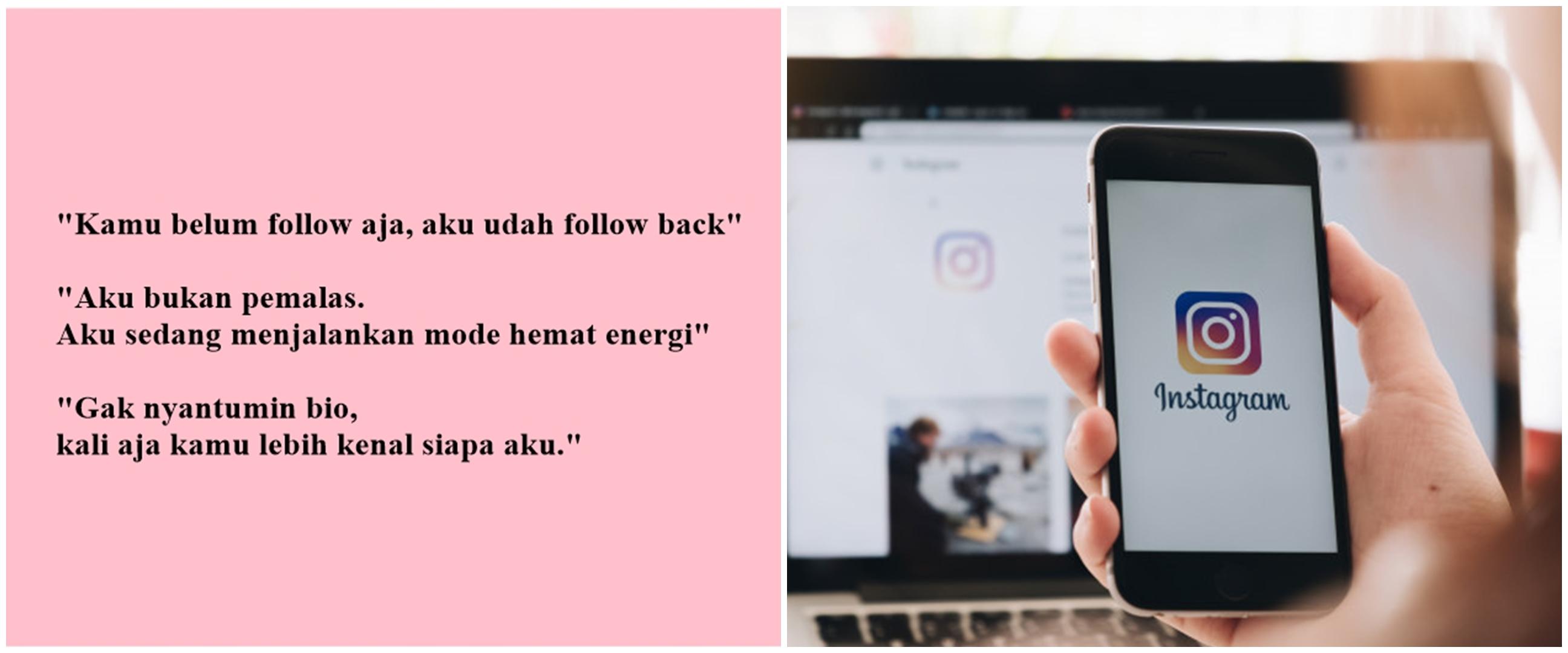 50 Bio Instagram lucu yang singkat, kekinian, dan menghibur followers