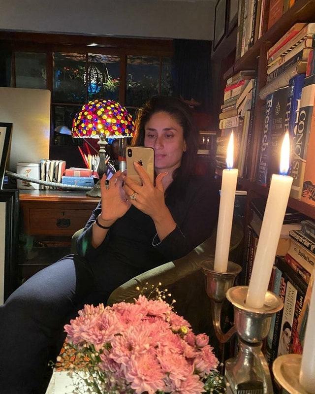 ruang kerja seleb Bollywood Instagram