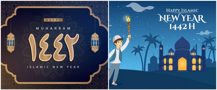 40 Ucapan Tahun Baru Islam 1 Muharram 1442 H Syahdu Dan Indah