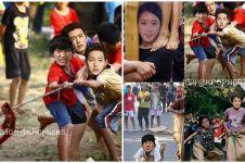 7 Editan seleb Korea lomba 17-an, Kim Soo-hyun balap karung