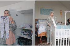 Jelang lahiran, ini 8 momen Irish Bella & Ammar siapkan kamar bayi