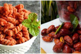 9 Resep camilan pedas manis, enak, sederhana, dan bikin nagih