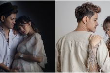 Hamil anak kedua, ini 9 gaya maternity Nessa Salvyana & Aditya Suryo