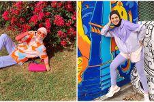 10 Gaya Tantri Namirah liburan di Jogja, tetap kece saat blusukan