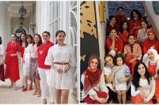 9 Potret arisan geng Kepompong, gaya Ussy Sulistiawaty curi perhatian