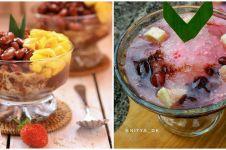 9 Resep es kacang merah, segar, nikmat, dan mudah dibuat