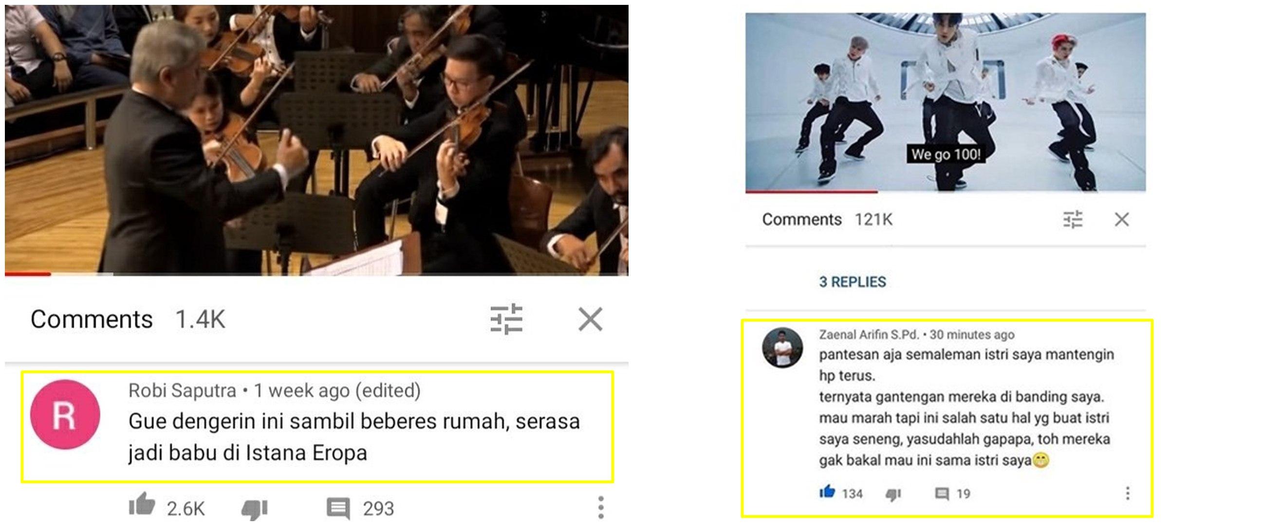 10 Curhat lucu di komentar YouTube ini bikin cekikikan