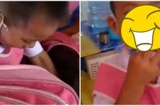 Viral, cerita bocah menangis karena maskernya hilang ini kocak