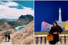 7 Momen liburan Salmafina Sunan, penampilannya jadi sorotan