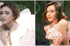 10 Gaya Amanda Manopo di nikahan sang kakak, memesona banget