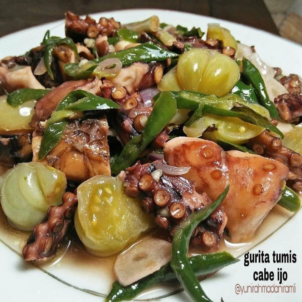 Resep olahan gurita ala rumahan © 2020 brilio.net